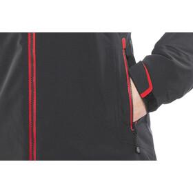 Yeti Rhonga Hardshell Untuvatakki Naiset, black/ribbon red